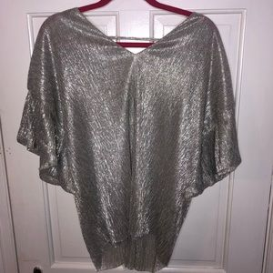 ANTHROPOLOGY Shimmer Top